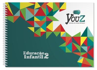 Livro didático bilíngue YouZ para Educação Infantil