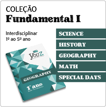 Livros de Inglês, abordagem interdisciplinar, para Educação Bilíngue (Fund I)