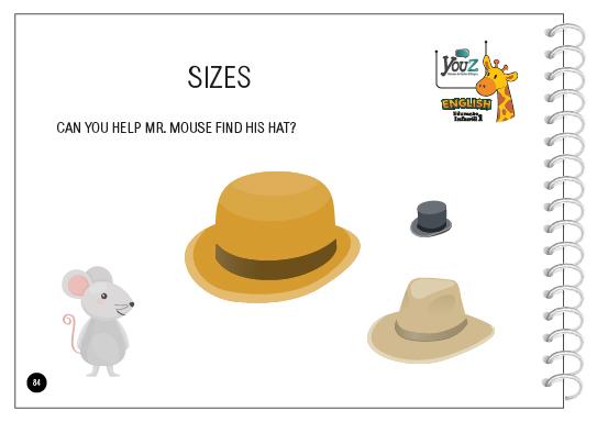 Atividade do Livro de Inglês para crianças de 3 anos (Educação Infantil). Tema: Numbers.