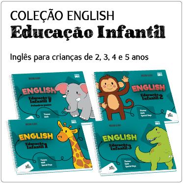 Livros de Inglês para Educação Infantil Bilíngue